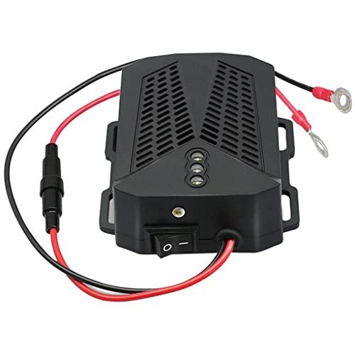 B Blesiya Repelente ultrasónico de roedores Portátil Eficiente Diseño compacto Multifunción Motor de automóvil Estroboscópico blanco LED Pest Expellent para