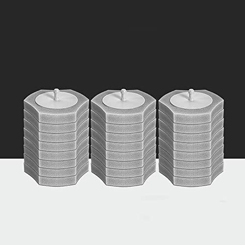 LCZ Toilettenbürste Einweg-Toilettenbürste WC Scrubber Smart-WC-Bürste Mit Hölder-Weiß Einweg-Upgraded Modernes Design WC-Reinigungs-Kit,B