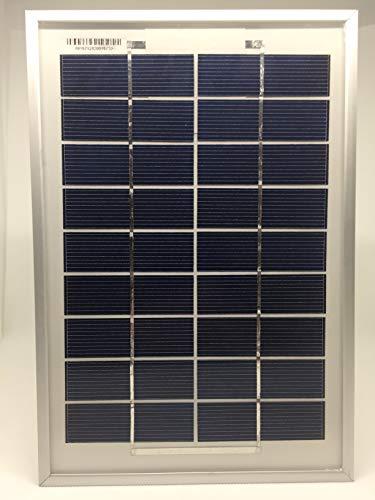 9V Solarmodul 5W Solarpanel Solarzelle Polykristallin Photovoltaik Solar Modul