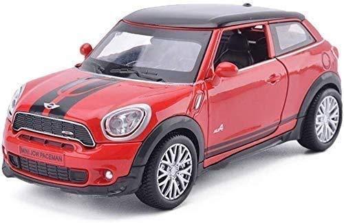 Paelf Aleación modelo modelo de cuatro puertas chico de cuatro puertas colección de autos modelo modelo simulación automóvil modelo aleación coche modelo niños juguete coche inercia coche niño coche m