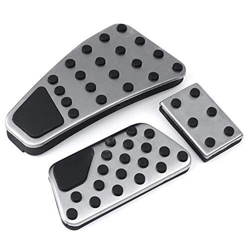 NUIOsdz Pedalbremse Pedalabdeckung Fußpedalauflagen-Kit, für Dodge Ram 2011-2019 1500 2500 3500 5500