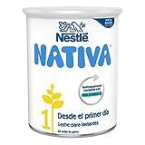 Nestlé Nativa 1 Leche para Lactantes en Polvo Fórmula para Bebés Desde El Primer Día, 800g