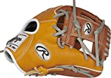 Rawlings Heart of The Hide R2G Baseball Glove, Tan/Timberglaze/Grey, 11.5 inch, Pro I Web, Right Hand Throw
