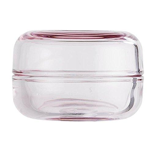 Bloom ingville Boîte de rangement en verre rose