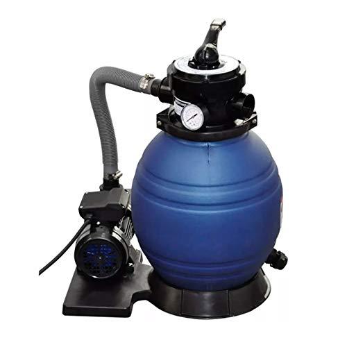 UBaymax Sandfilterpumpe Speed Clean Sandfilteranlage, Sandfilter Poolfilter Schwimmbad Filter Set, Umwälzleistung 7 m³/h, 400 W 11000 L/h