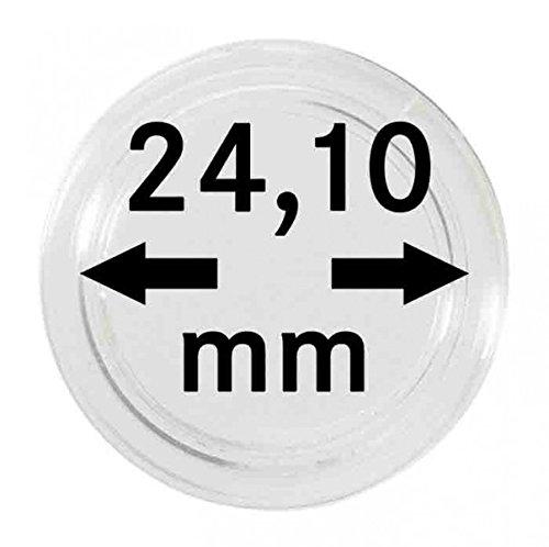 Lindner S22702410P Münzkapseln 24,10 mm-10er Pack