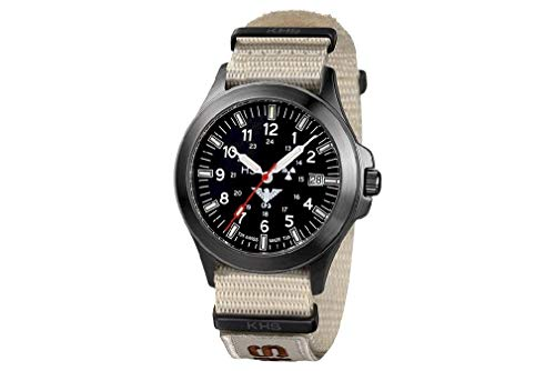 KHS Tactical Watches Black Platoon Titan KHS.BPT.NXTLT5 Titan IPB Nato XTAC Tan