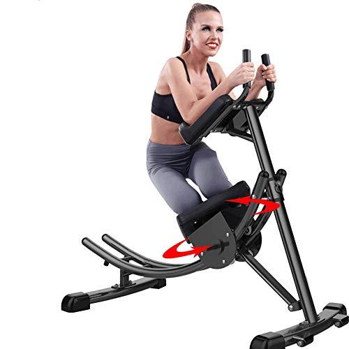 DBSCD Fitness-Trainingsgeräte, Ab Coaster, Abdominal Crunch Coaster Fitnessgeräte, rotierendes Knieschoner, zusammenklappbare Platzersparnis