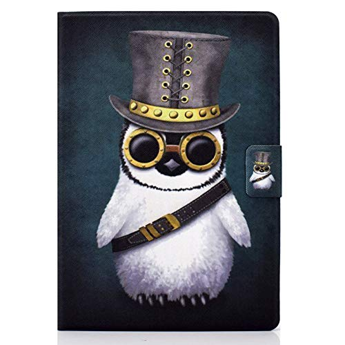 JIan Ying Case for Universal ALL 7.0 inch Tablet Slim Lightweight Peint Protector Cover Penguin