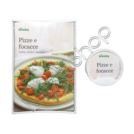 """Original Libro de Cocina Digitales """"Pizze e Focacce"""" para Thermomix TM5 Vorwerk (Versión Italiana)"""