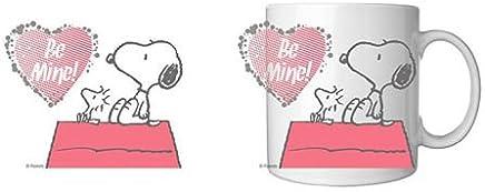"Preisvergleich für Peanuts / Snoopy Tasse / Kaffeebecher - ""BE MINE"""