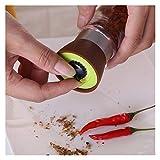 HAQTXI Molino de Pimienta de Sal, Molinillo, Colorido, Colorido, fácil de Transportar, Utensilios de Cocina, Especia, Pimienta, Herramienta de Cocina. (Color : Brown)