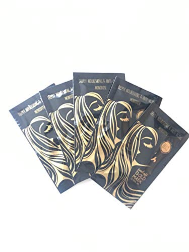 GOLD MASK - Masques Pell-Off Anti Points Noirs, x 5 pièces
