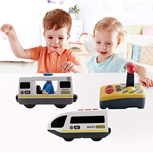 Juguete de Tren con Control Remoto eléctrico con Control Remoto para niños...
