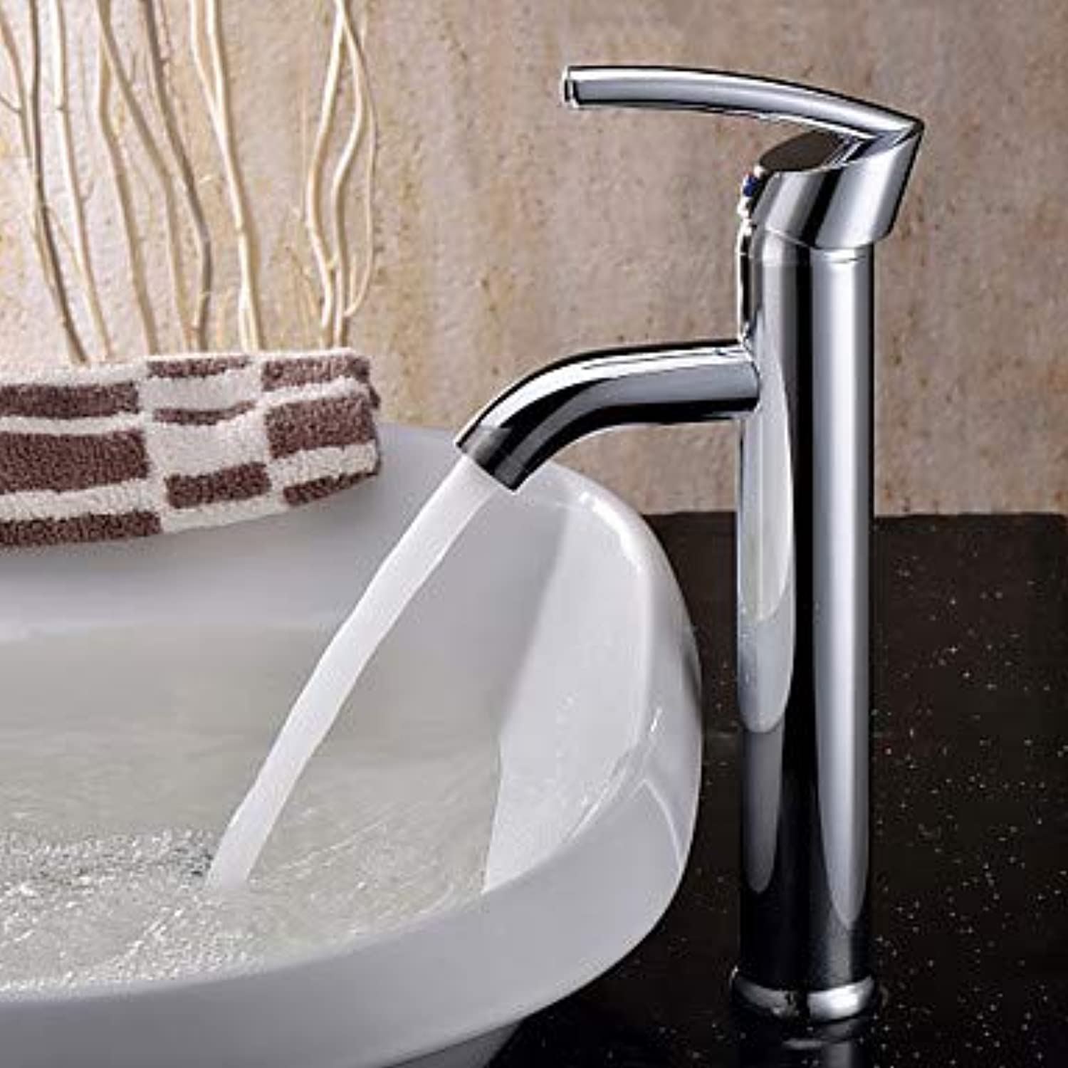 HMer Sink taps Countertop Brass Chrome