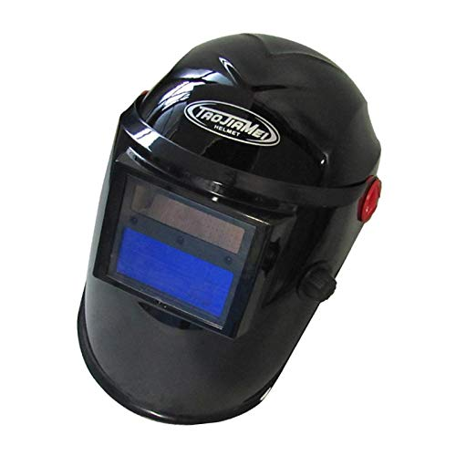 SDENSHI Casco de Soldadura de Oscurecimiento Automático Máscara de Soldador de Energía Solar Rango 9-13 Escudo de Ojos