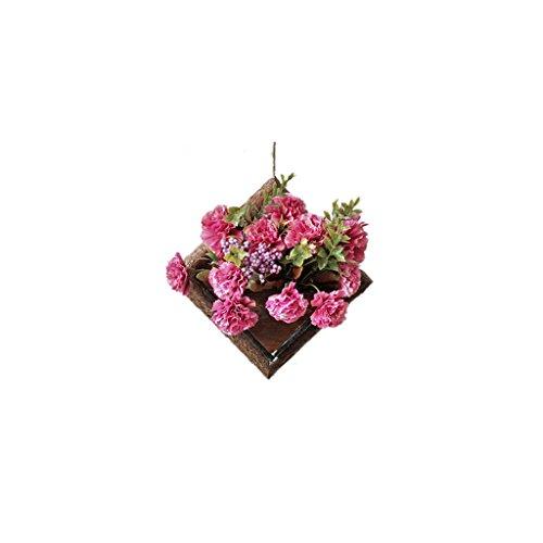 Lingyun Étagère- Support à fleurs en bois massif ➫ Décoration de salon ❀ Support à plantes Decoration Décoration murale ❀ Support à fleurs ❁ Étagère en bois multifonctionnel ❀ Support à fleurs ❁ Présentoir ( taille : 20*28CM )