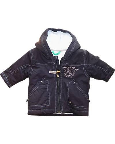Timberland - Cappotto - bambino blu 3 mesi