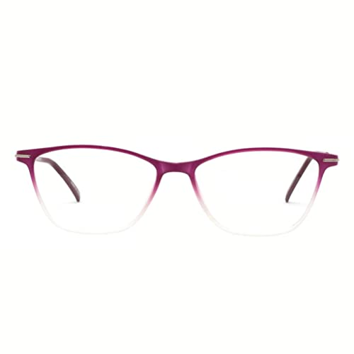 36e0e88475 Eyewear Frames-OCCI CHIARI-Rectangle Lightweight Non-Prescription  Eyeglasses Frame with Clear Lenses