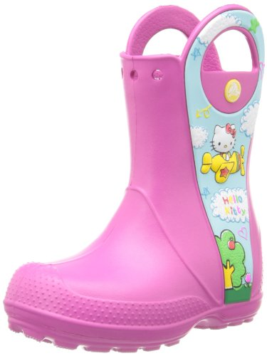 crocs Handle It Hello Kitty Plane NA Boot (Toddler/Little Kid)