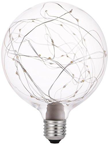 Garza Lighting - Bombilla LED Vintage Starlight, potencia 1.2W, casquillo E27, luz cálida 2700K