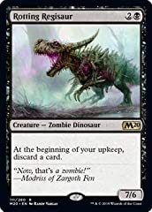 Name: Rotting Regisaur Set: Core Set 2020 A single individual card from the Magic: the Gathering (MTG) trading and collectible card game (TCG/CCG).