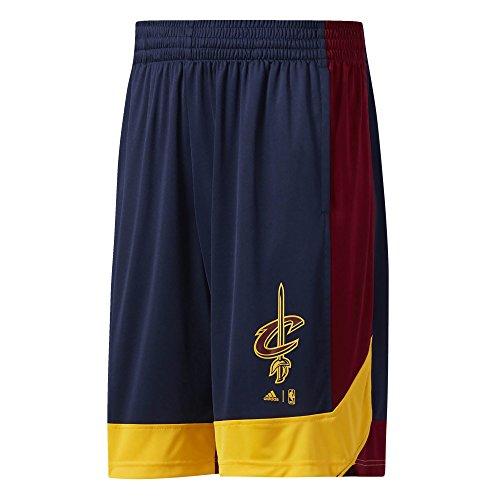 adidas SMR RN Nr - Pantaloncini Cleveland Cavaliers da Basket, Uomo, Uomo, Smr RN Nr, Multicolore (nbacca), L