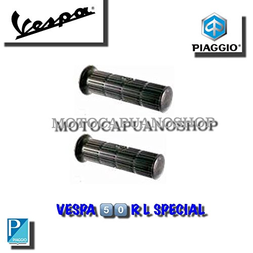 COPPIA SERIE MANOPOLE VESPA 50 SPECIAL R L N 125 ET3 PRIMAVER