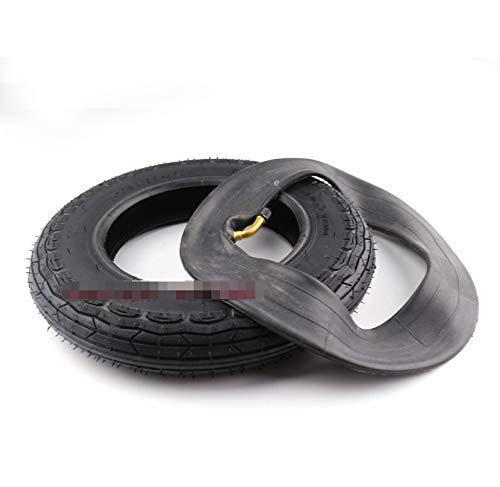 XIOFYA 10x2 Pulgadas Neumático Neumático/Cámara de Aire for Vespa del Cochecito de niño del Cochecito de Bicicletas Niños Roadster Trike Triciclo Posterior de la válvula de Bent Ruedas