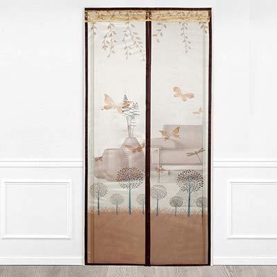 Sommerhaus Schlafzimmer hochwertige Magnetstreifen Anti-Moskito-Vorhänge Verschlüsselung Türen und Fenster Moskitonetz Magnetschirm Vorhänge A1 B80xH210
