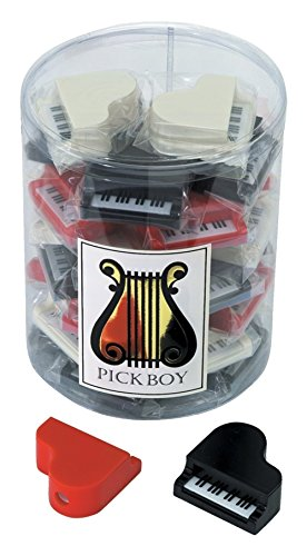 Gewa 976044 Spitzer Piano, schwarz/rot/weiß, 30 Stück