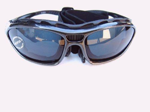 Alpland RADBRILLE FAHRRADBRILLE BIKERBRILLE Sportbrille Sonnenbrille inkl. Band, BÜGEL; und SOFTBAG