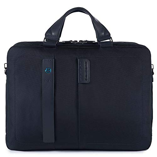Piquadro - Cartella porta PC/iPad da Uomo, Nero