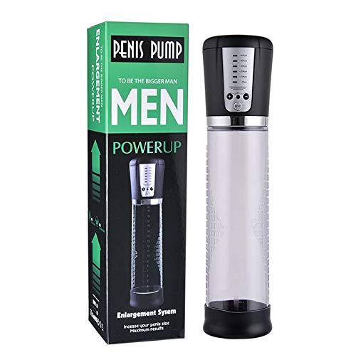 SIECPC Vacu-um erhöht Spielzeug Druckverstärker Männer elektrischen Stift Wachstum