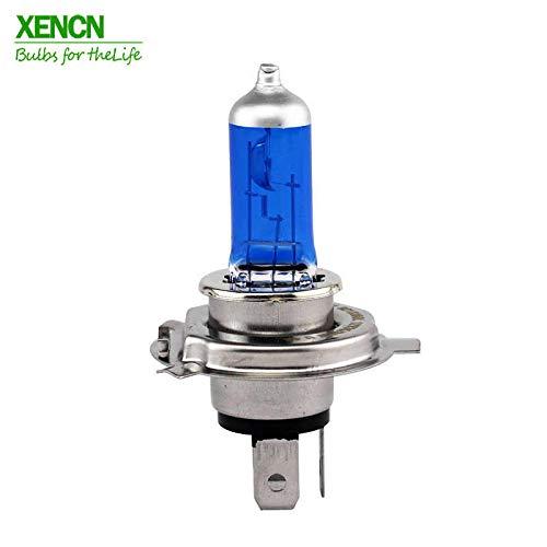 LED Premium 1 ampoule halogène moto HS1 PX43t 35/35 W 12 V bleu diamètre léger XENCN 5300 K moteur