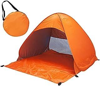 Strand upp automatiskt öppet tält familj ultralätt vikbart tält turist fisk camping anti-UV helt solskydd