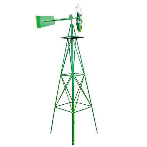Grow Tent, 8FT Weather Resistant Yard Garden Windmill Green (US Stock)