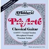 ダダリオ/D'Addario EJ45TT ProArte DynaCore Normal Classical Guitar Strings/アクセサリー【並行輸入品】
