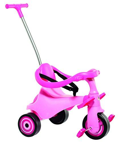 Moltó-Urban Trike II City Girl Triciclo Infantil 5 en 1, Color Rosa 16218
