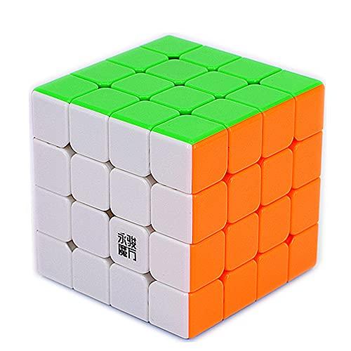 LiangCuber Yongjun Yusu V2 M 4x4 Speed Cube YongJun YJ YuSu 2M 4x4x4 Magnetic Magic Cube 61mm Stickerless (Magnetic Version)