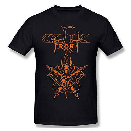 Celtic Frost Herren & Jugend Mode Baumwolle Kurzarm T-Shirt Grafik T-Shirt 3XL