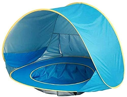 Tent for Camping Outdoor Sunshade Portable Small Tent, Sunscreen Beach Children Can Be Folded Easily