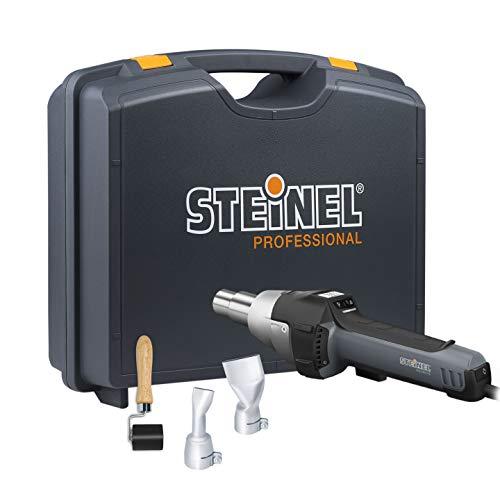 Steinel Heißluftgebläse HG 2620 E Planen-Set, Andrückrolle, 2 Winkelflachdüsen, 2300 W Heißluftpistole, 700°C|500 l/min