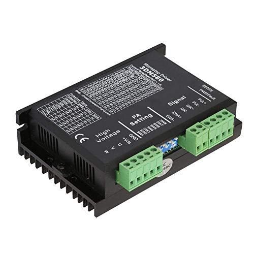 LHQ-HQ Controlador de motor paso a paso, DC 18-50V 15-400KW 3 fases paso a paso controlador de motor 3DM580 500KHz para CNC