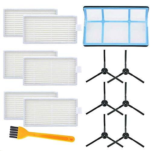 IUCVOXCVB Accesorios de aspiradora Accesorios de aspiradora Kit de Cepillo de Filtro Ajuste para ILIFE V3 V3S V5 V5S PROPTS