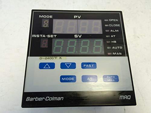 USED BARBER COLMAN MAQ TEMPERATURE CONTROL X74129 MAQ6-607-01-100-0 CN