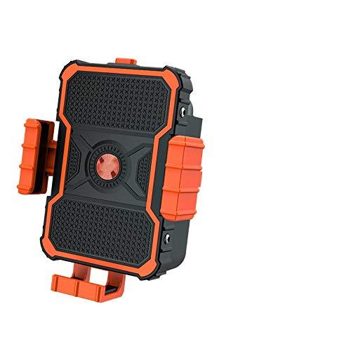 FQYYDD Soporte para teléfono Motocicleta Bicicleta Soporte para teléfono móvil Soporte para navegación Blackhandlebar