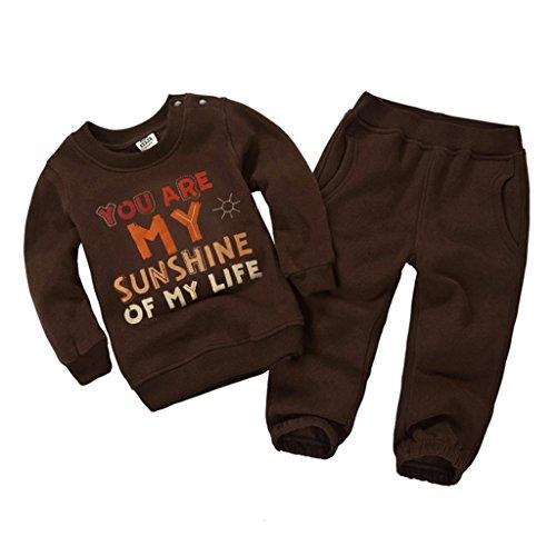 Vine Trading Co.,Ltd Kinder Sweatshirts Set Langarmshirt + Hose Vine Baby Bekleidungssets Kind-Outfits Bekleidung Sport Anzüge