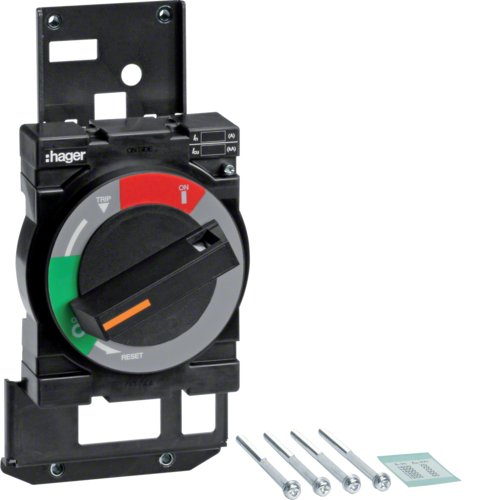 Hager h1600 - Mando rotativo directo para interruptor h1600