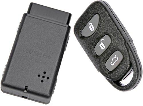 APDTY 133775 Replacement Keyless Entry Remote Key Fob With Auto Programmer Fits 2006-2014 Hyundai Sonata 2007-2015 Hyundai Elantra (Replaces 954303K202, 954303Q000, 954303Q001, 954303X500)